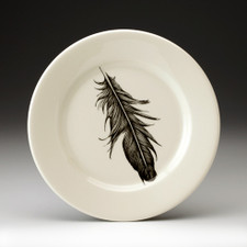 Salad Plate: Raven Feather