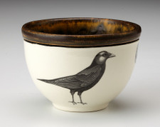 Small Round Bowl: Crow