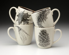 Set of 4 Mugs: Botanical