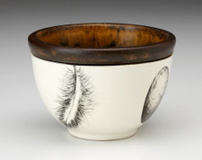 Small Round Bowl: Feather & Egg