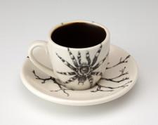 Espresso Cup and Saucer: Tarantula