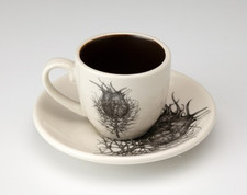 Espresso Cup and Saucer: Nigella