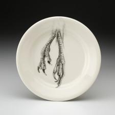 Bread Plate: Quail Feet