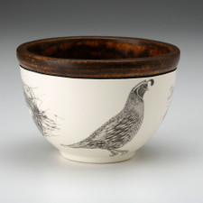 Small Round Bowl: Quail #1