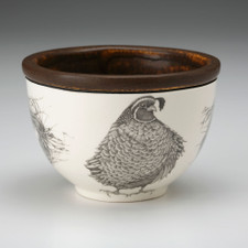 Small Round Bowl: Quail #3