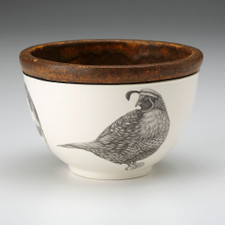 Small Round Bowl: Quail #4