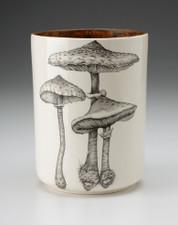 Utensil Cup: Parasol Mushroom