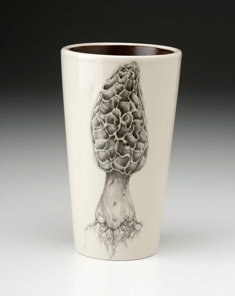 Tumbler Morel Mushroom Laura Zindel Design
