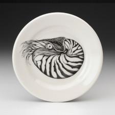 Bread Plate: Nautilus