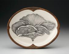 Small Serving Dish: Shelf Mushroom