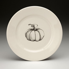 Salad Plate: Ghost Pumpkin