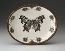 Small Serving Dish: Angel Wing Butterfly