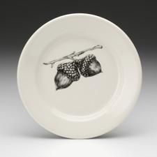 Bread Plate: Double Acorn