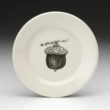 Bread Plate: Red Oak Acorn