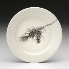 Bread Plate: Pine Branch