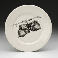 Salad Plate: Double Acorn