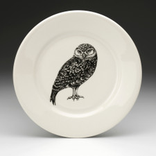 Salad Plate: Burrowing Owl