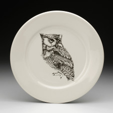 Dinner Plate: Screech Owl #1