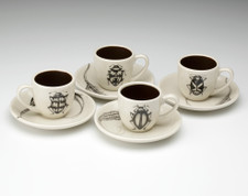 Espresso Set of 4: Beetles