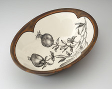 Large Serving Dish: Pomegranate
