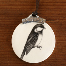 Ornament: Black-capped Chickadee