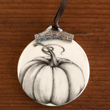 Ornament: Ghost Pumpkin