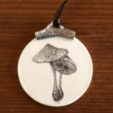 Ornament: Parasol Mushroom #2
