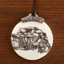 Ornament: Funnel Cap Mushroom