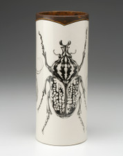Large Vase: Goliath Beetle