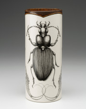 Large Vase: Ground Beetle