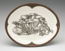 Small Serving Dish: Funnel Cap Mushroom