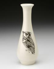 Bud Vase: Screech Owl #1