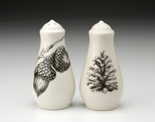 Salt and Pepper: Double Acorn, Spruce Pine Cone