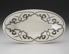 Oblong Serving Dish: Texas Rat Snake