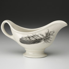 Sauce Boat: Quail Feather