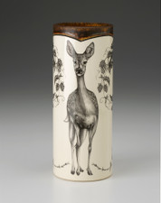 SMALL VASE - WOODLAND FALLOW DOE LAURA ZINDEL DESIGN