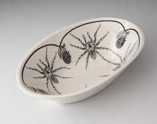 Large Serving Dish: Tarantula