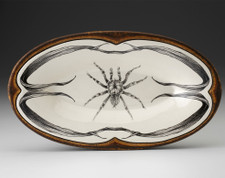 Oblong Serving Dish: Tarantula
