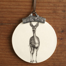 ORNAMENT: FALLOW DOE