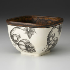 Small Square Bowl: Turk Gourd