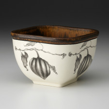 Small Square Bowl: Acorn Squash