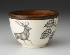 Small Round Bowl: Red Buck & Hops