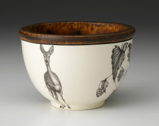 Small Round Bowl: Fallow Doe & Hops