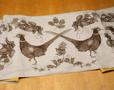 Table Runner: Hops and Pheasant