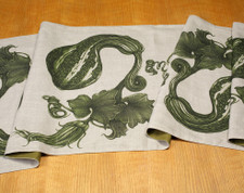 Table Runner: Gourds