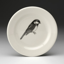 Bread Plate: Black-capped Chickadee