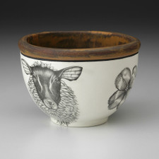 Small Round Bowl: Suffolk Sheep