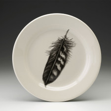 Salad Plate: Quail Feather
