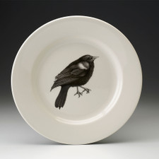 Dinner Plate: Red-Winged Blackbird