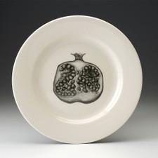 Dinner Plate: Pomegranate Half